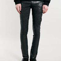 Premium Black Coated Spray On Skinny FIT Jeans - New In