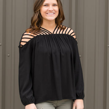 Corey Cut Out Top