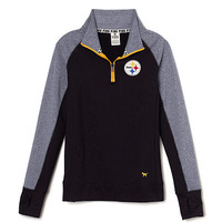 Pittsburgh Steelers Ultimate Half-Zip - PINK - Victoria's Secret