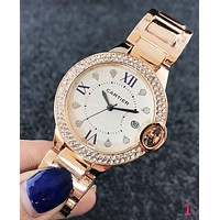 Cartier Trending Women Stylish Chic Diamond Watch Wristwatch I-Fushida-8899