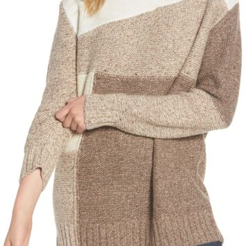 French Connection Anna Patchwork Turtleneck | Nordstrom