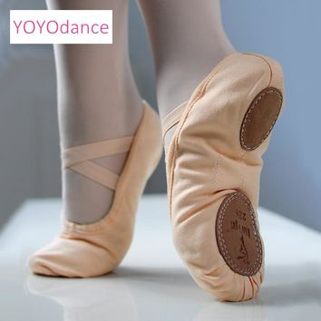 2018 Child and Adult ballet pointe dance shoes ladies professional ballet dance shoes canvas shoes woman dance shoes 5111