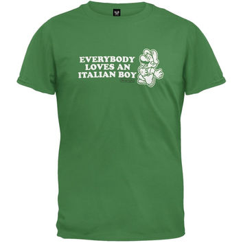 Nintendo - Loves An Italian T-Shirt