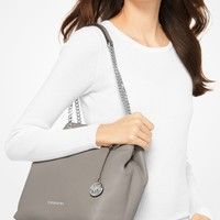 Jet Set Leather Shoulder Bag | Michael Kors