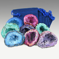 Agate Geodes Party Bags