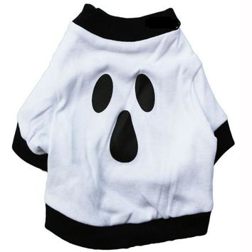 Cat Ghost Costume Shirt for Halloween