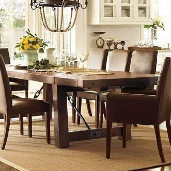 Benchwright Dining Table | Pottery Barn