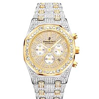 Audemars Piguet Tide brand full diamond simple versatile quartz watch #2