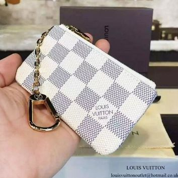 Louis Vuitton Monogram Canvas Key Pouch Key case - purse
