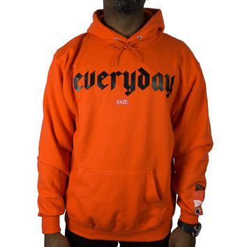 Everyday FAZE Champion Hoodie in orange