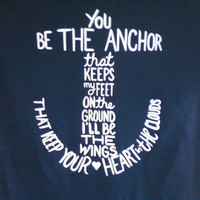 Anchor short sleeved t shirt - MayDay Parade