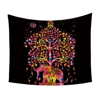 Tree of Life Boho Tapestry