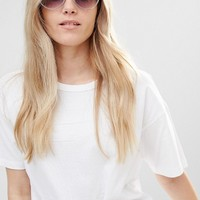 Jeepers Peepers Oversized Round Sunglasses at asos.com