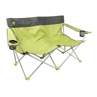 Coleman Quattro Lax Double Quad Camp Chair (Yellow)