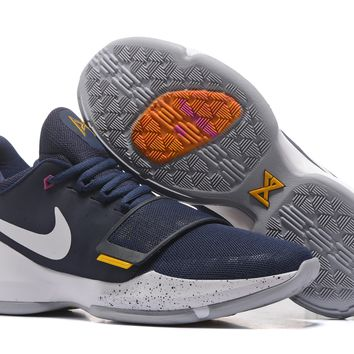 "Nike Zoom Paul George PG 1 ""Pacers"" Basketball Shoes"