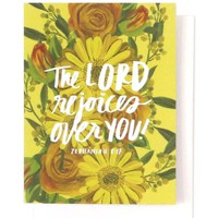 Thimblepress - The Lord Rejoices Single Card
