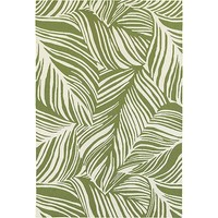 Baracoa Indoor/Outdoor Rug, Ivory and Olive