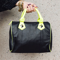 All About You in Black/Neon Yellow