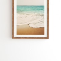 Bree Madden Ombre Beach Framed Wall Art