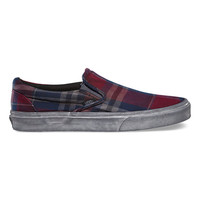 Over Washed Plaid Slip-On CA | Shop California Shoes at Vans