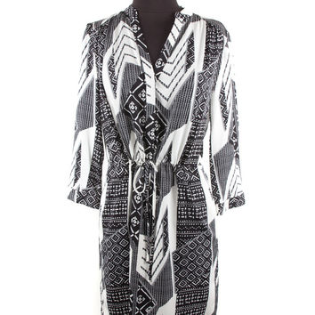 Women's DVF black/white Dress