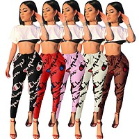 Champion Print sports casual pants