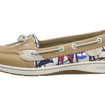 Sperry Top-Sider Angelfish 2-Eye Linen (Signal Flags) - 6pm.com