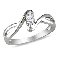 Diamond Fashion Ring in Sterling Silver