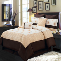 Madison Gold 8-Piece Comforter Set