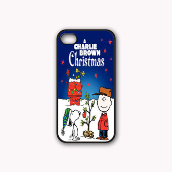 Charlie Brown Christmas Print On Rubber or Plastic - iPhone 4/4s, 5 - Samsung S3 i9300, S4 i9500 - iPod 4, 5