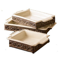 Acanthus Collection Baker S/3