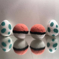4x Ultimate Pokemon Bath Bomb Gift Set