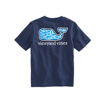 Boys Marlin Whale Fill T-Shirt
