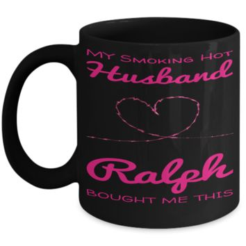 Personalized Gift Husband Mug Valentine Day 2017 2018 Couples Cup Chocolate Jar