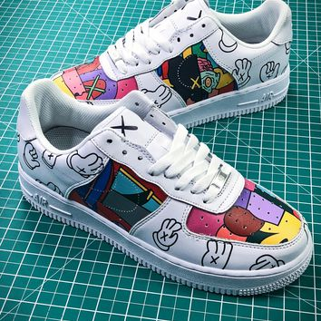 Kwas X Nike Air Force 1 Af1 Graffiti Sport Running Shoes - Best Online Sale