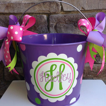 Personalize Easter Bucket 5 Quart