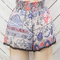 Altar'd State Paisley Print Shorts | Altar'd State