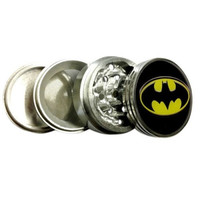 "Batman Logo Herb Aluminum Grinder 2.2"" 4 Piece w/ Pollen Screen = 1927865668"