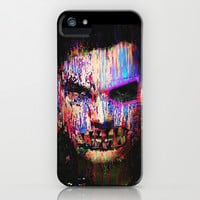 Dexter Morgan.The Quiet Ones. iPhone & iPod Case by brett66