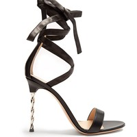 Cocktail ankle-tie leather sandals | Gianvito Rossi | MATCHESFASHION.COM US