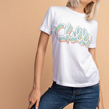 Baby Just Chill Tee