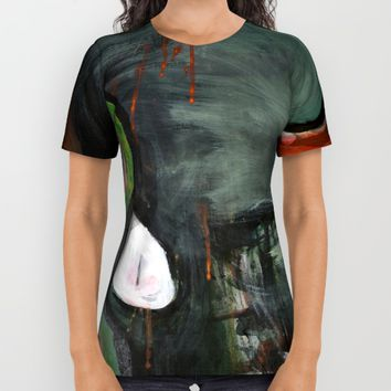 Heads All Over Print Shirt by Arte Cluster