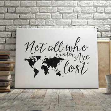 J R R TOLKIEN, Not All Who Wander Are Lost,R=Travel Far Travel Often,Travel Gift,Motivational Poster,Printable Art,Quote Poster,Quotes