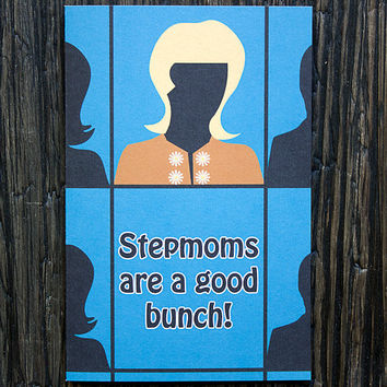 Stepmother Card Mothers Day Brady Bunch Funny