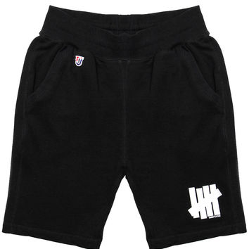 Undefeated - 5 Strike French Terry Sweatshorts (Black)