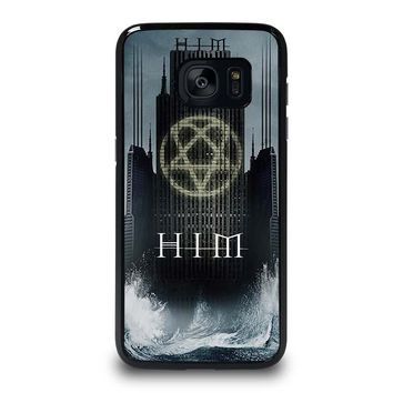 HIM BAND HEARTAGRAM Samsung Galaxy S7 Edge Case Cover