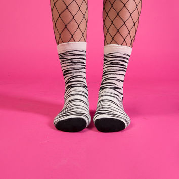 Zebra Sock Set (Set of 2)