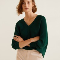 Ribbed fine-knit sweater - Women | MANGO United Kingdom
