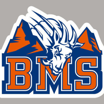 BLUE MOUNTAIN STATE college sticker decal