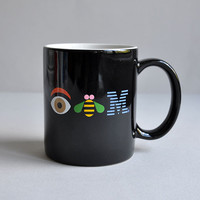"IBM ""Eye Bee M"" Mug designed by Paul Rand"